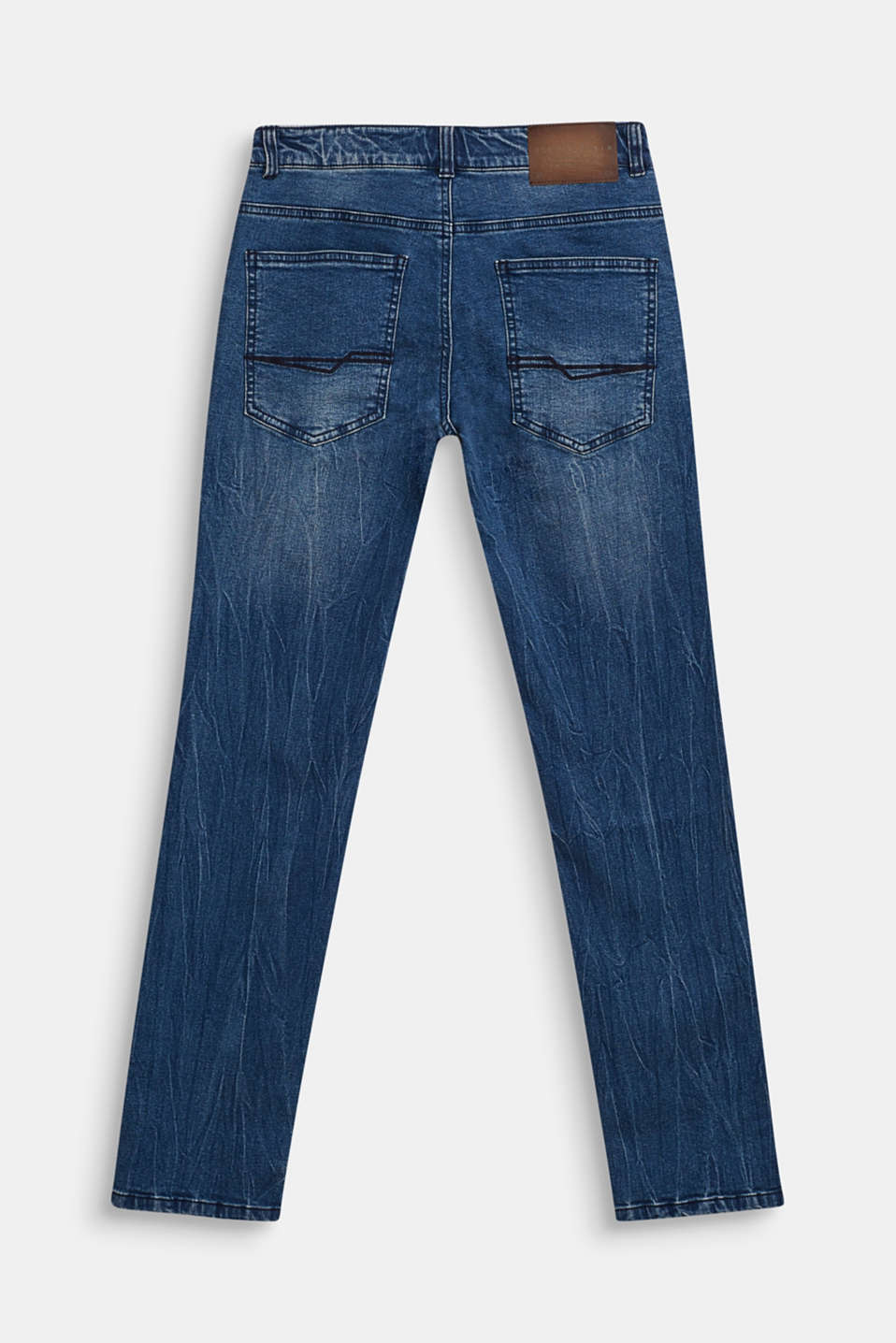 Stretch jeans with soft lining, LCDARK INDIGO DE, detail image number 1