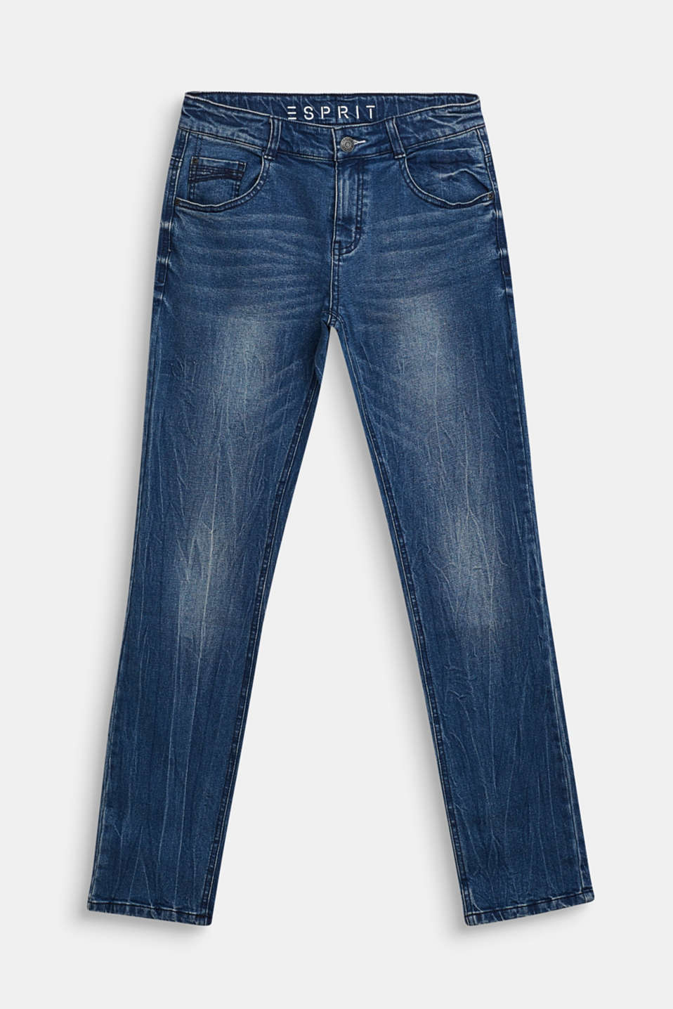 Esprit - Jeans stretch con lato interno morbido