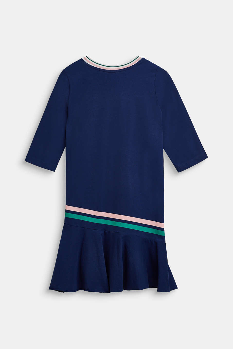 Jersey dress with stretch, LCMARINE BLUE, detail image number 1