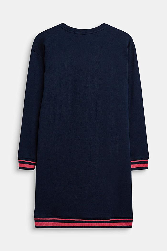 Sweaterkleid mit Print, LCNAVY, detail image number 1