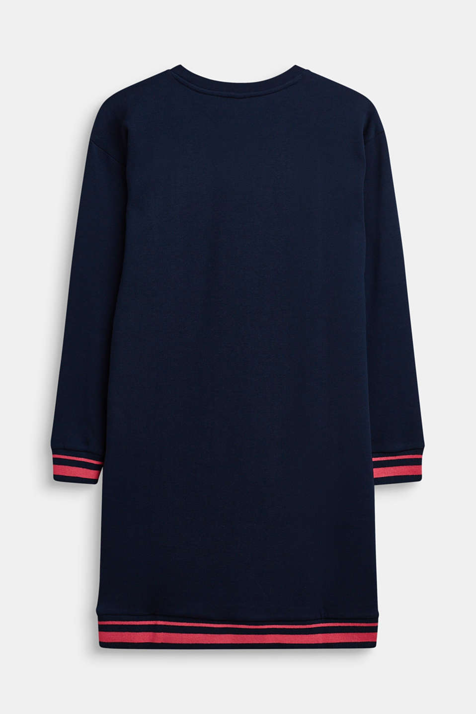 Sweater dress with a print, LCNAVY, detail image number 1