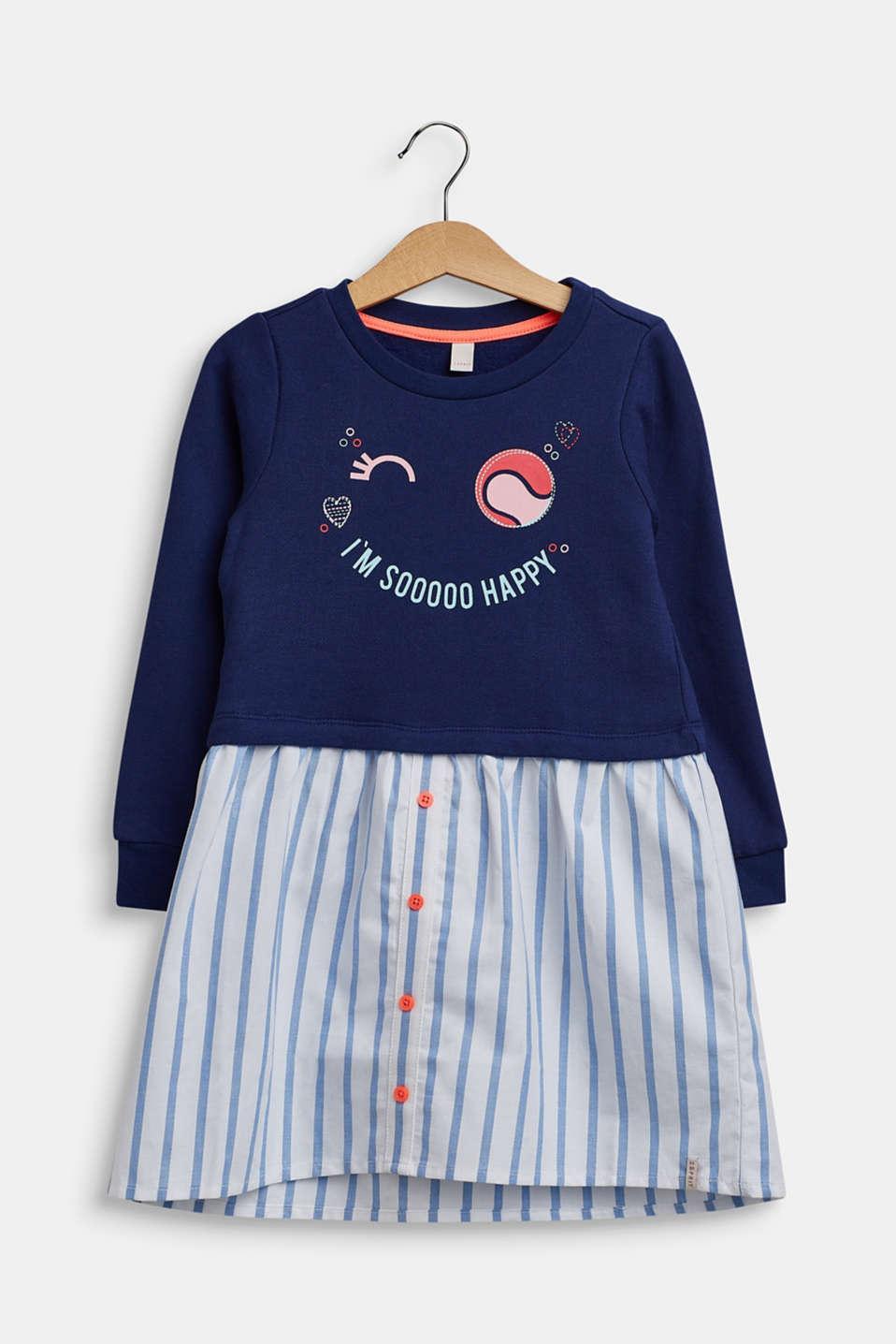 Dresses knitted, LCMARINE BLUE, detail image number 0