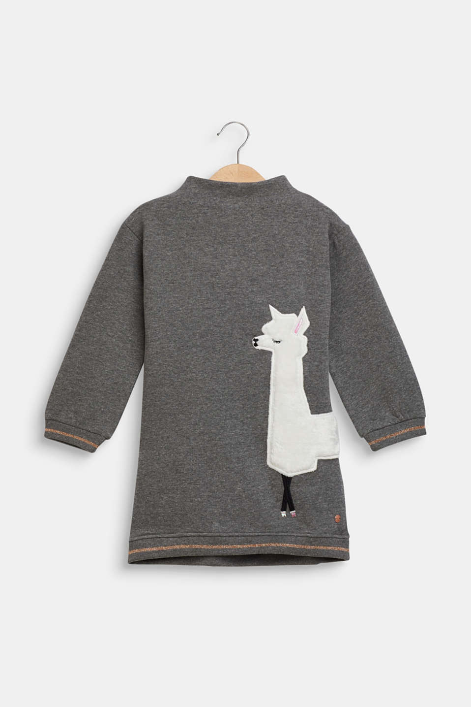 Esprit - Sweatshirt dress with llama appliqué