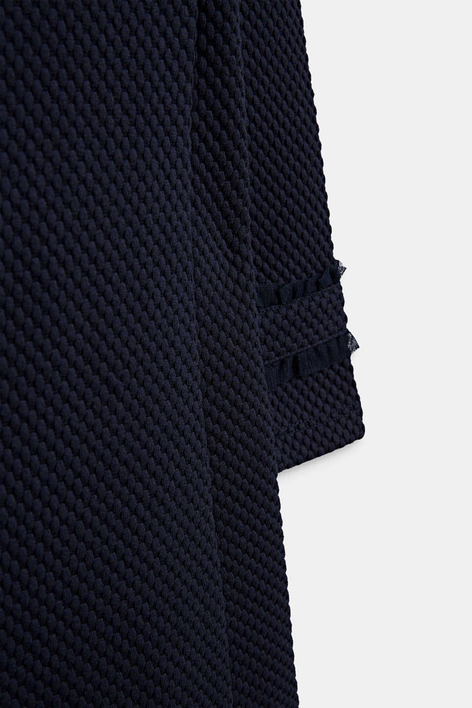 Dress made of textured jersey, NAVY BLUE, detail image number 2