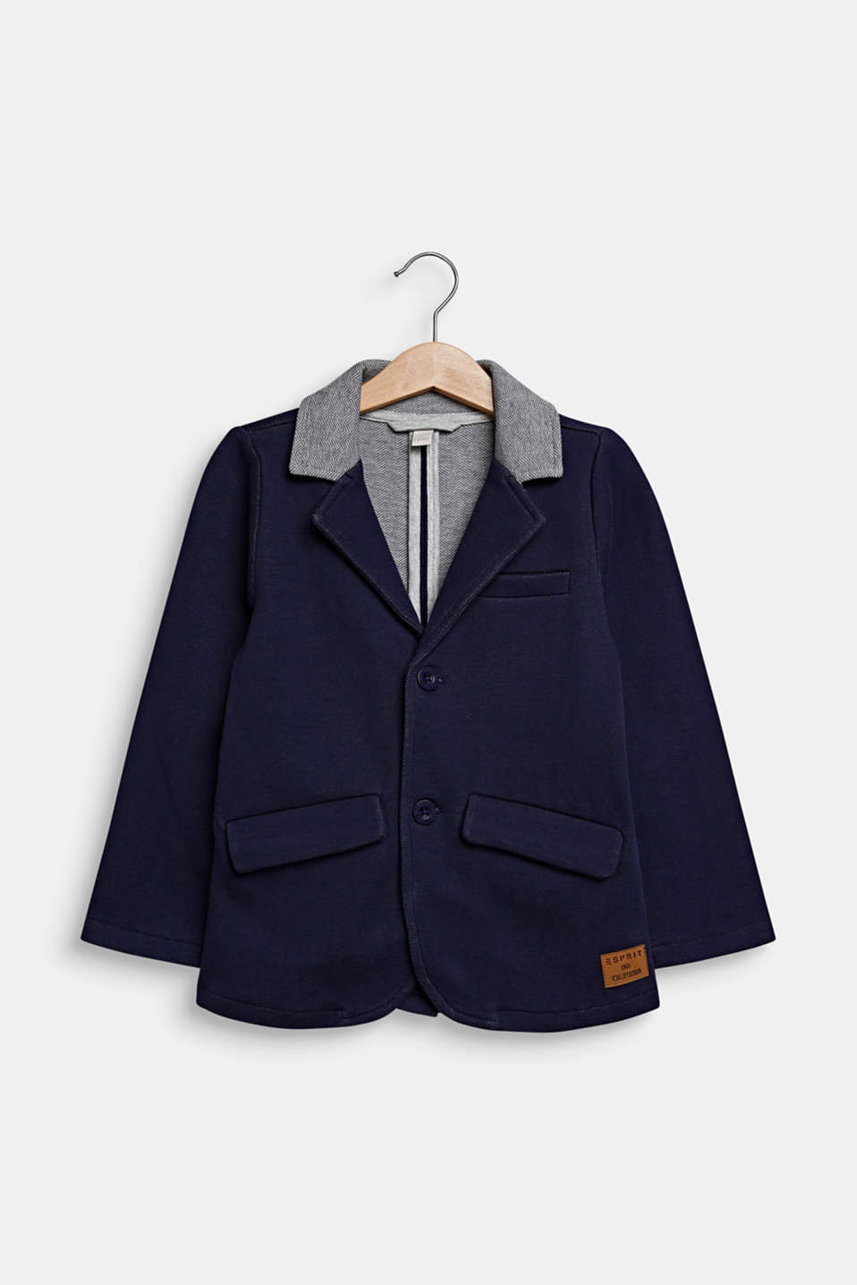 Esprit - Sweatblazer met elleboogpatches