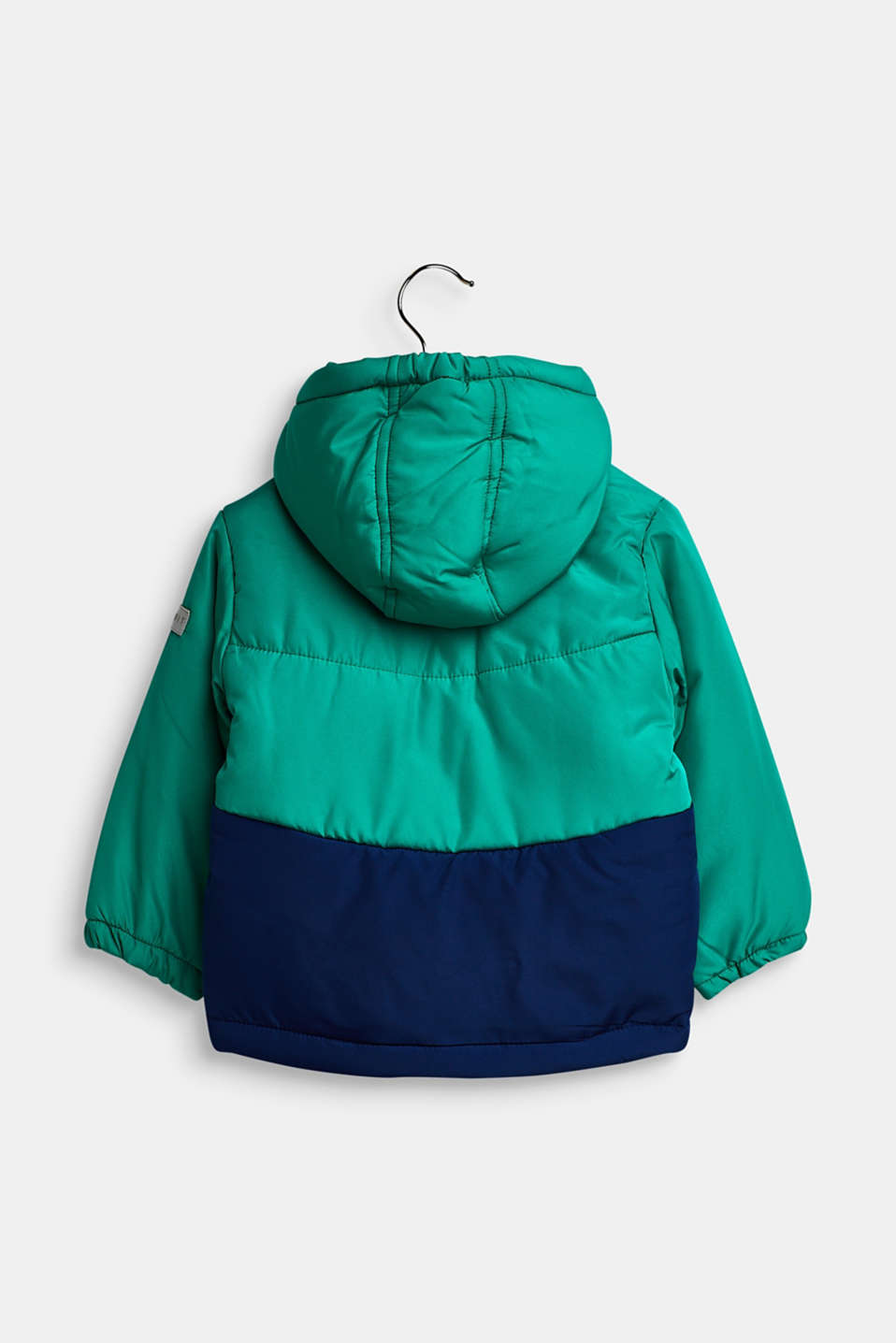 Padded hooded anorak, LCMID GREEN, detail image number 1