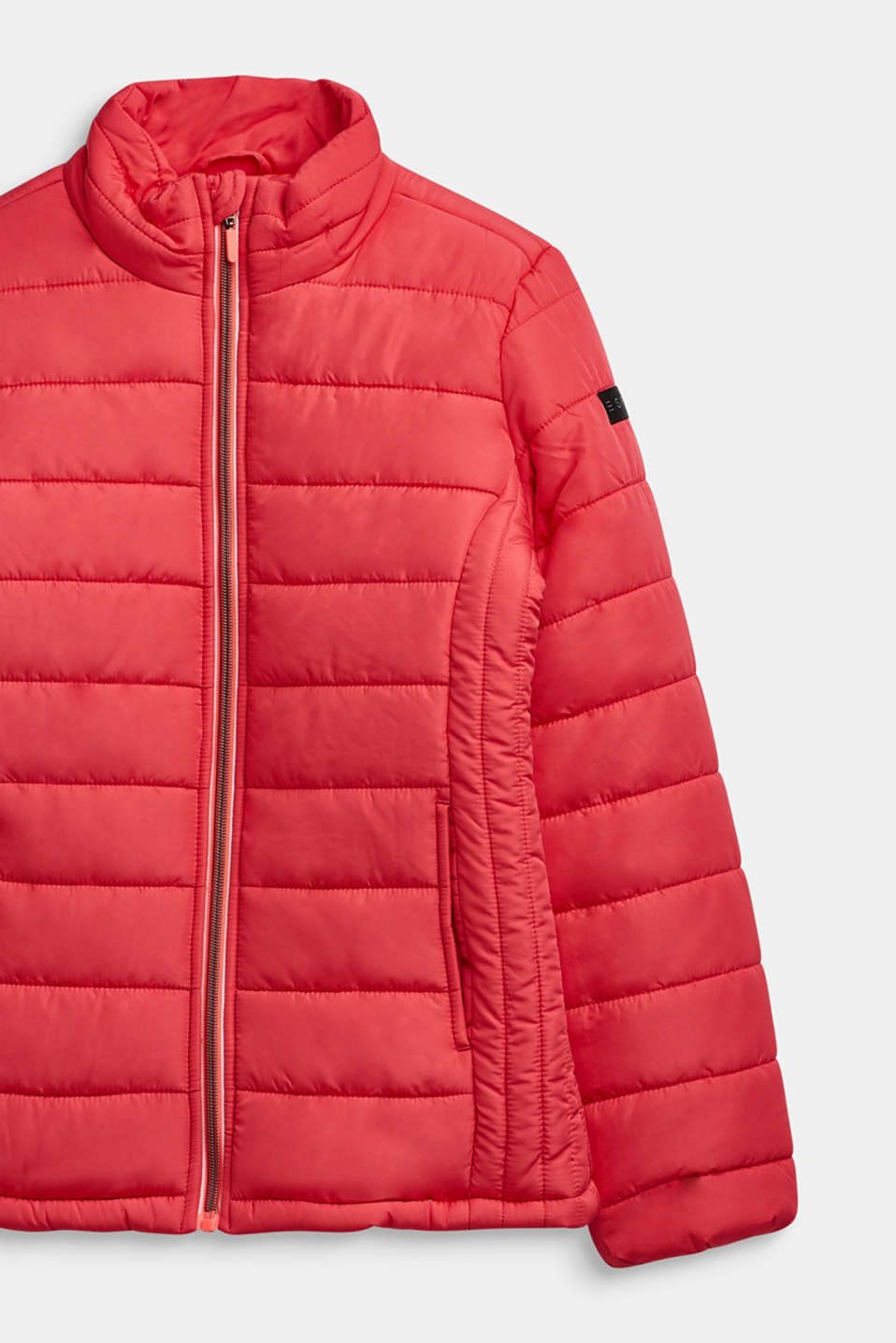 Quilted jacket with a stand-up collar, LCSTRAWBERRY, detail image number 2