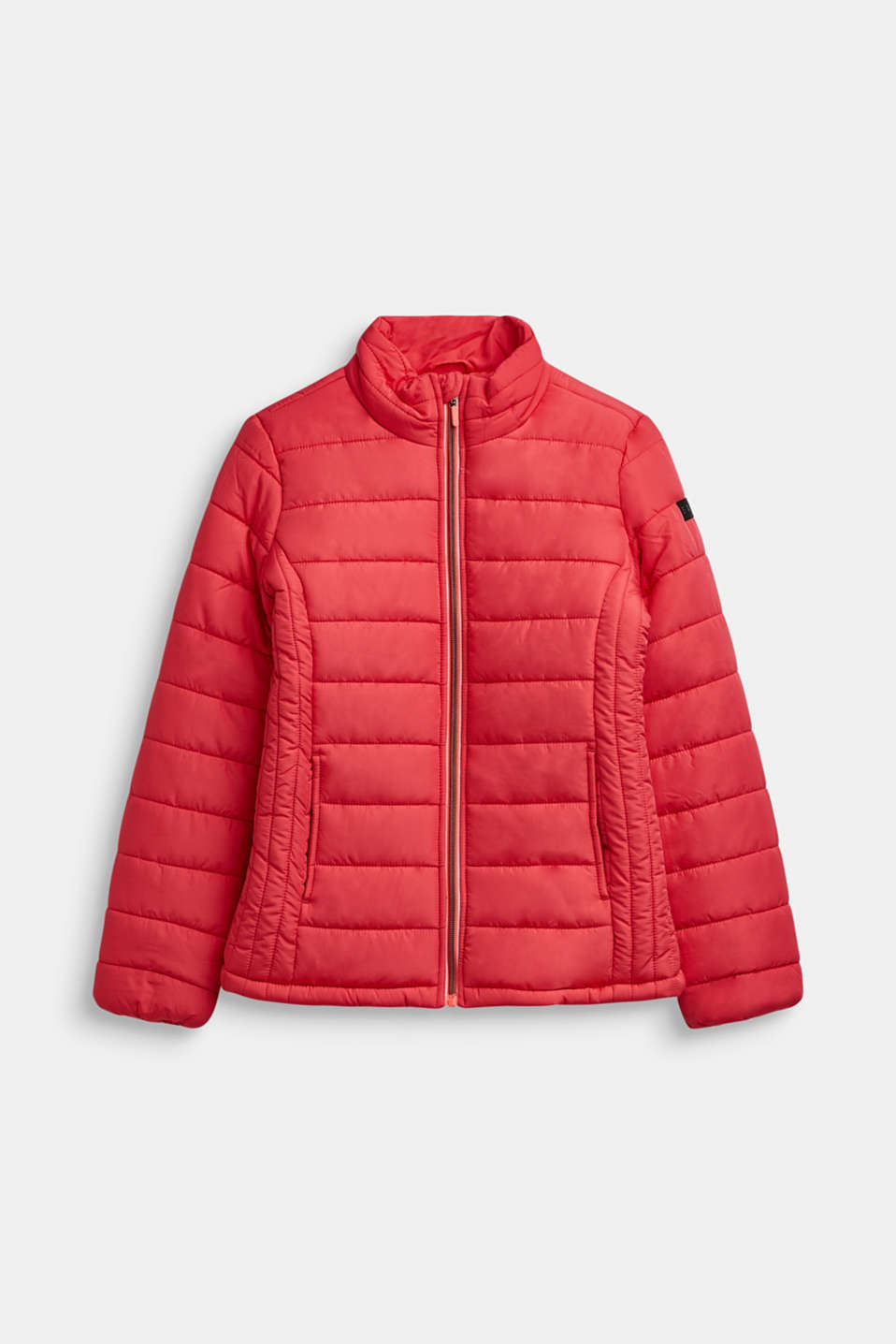 Quilted jacket with a stand-up collar, LCSTRAWBERRY, detail image number 0