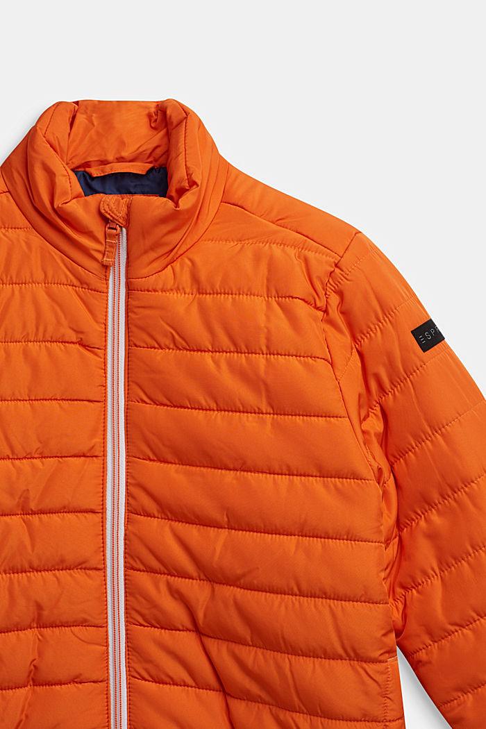 Leichte Stepp-Jacke, BRIGHT ORANGE, detail image number 2