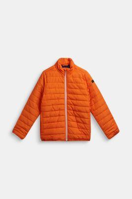 Lightweight quilted jacket, LCBRIGHT ORANGE, detail