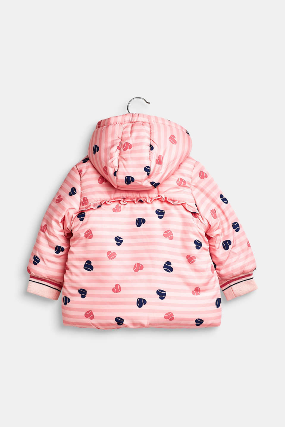 Padded hooded anorak, LCTINTED ROSE, detail image number 1