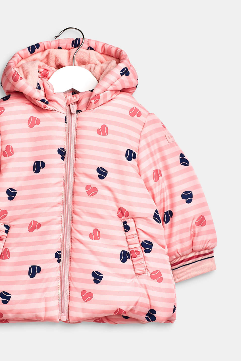 Padded hooded anorak, LCTINTED ROSE, detail image number 2