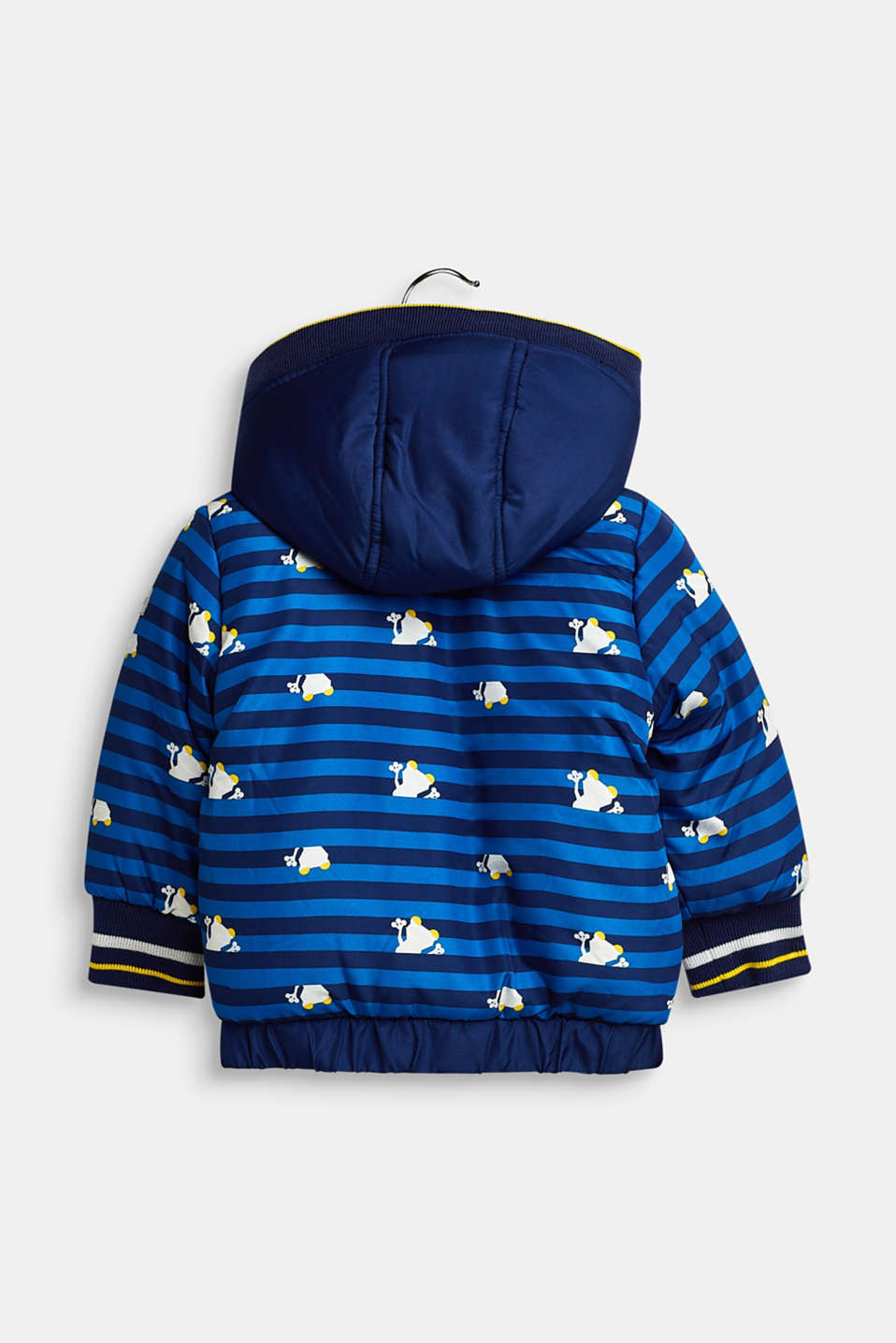 Jacket with a detachable hood, LCBRIGHT BLUE, detail image number 1