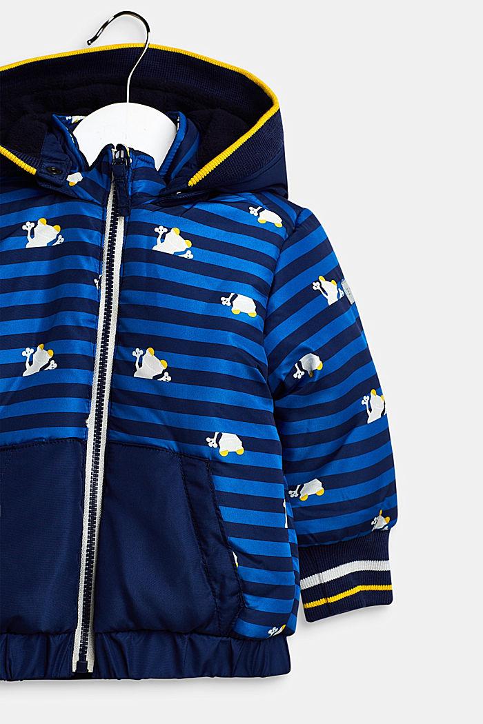 Jas met afneembare capuchon, BRIGHT BLUE, detail image number 2