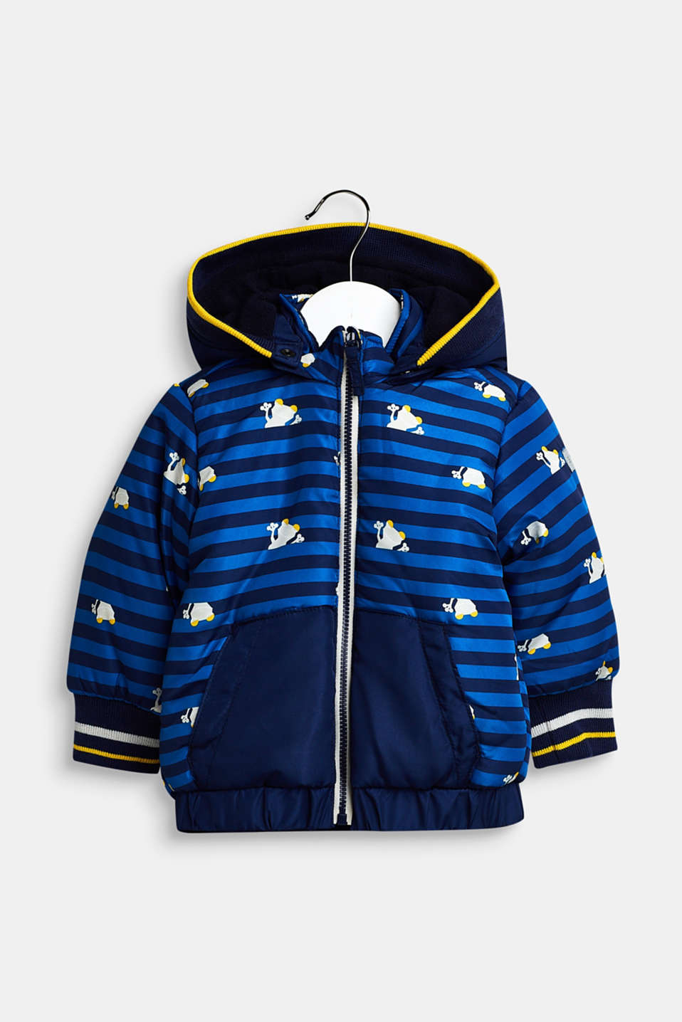 Jacket with a detachable hood, LCBRIGHT BLUE, detail image number 0