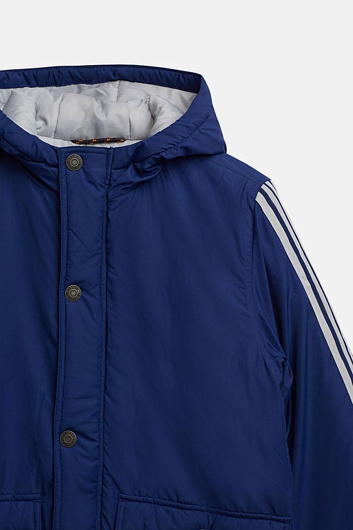 Wattierte Kapuzen-Jacke, MARINE BLUE, detail image number 2