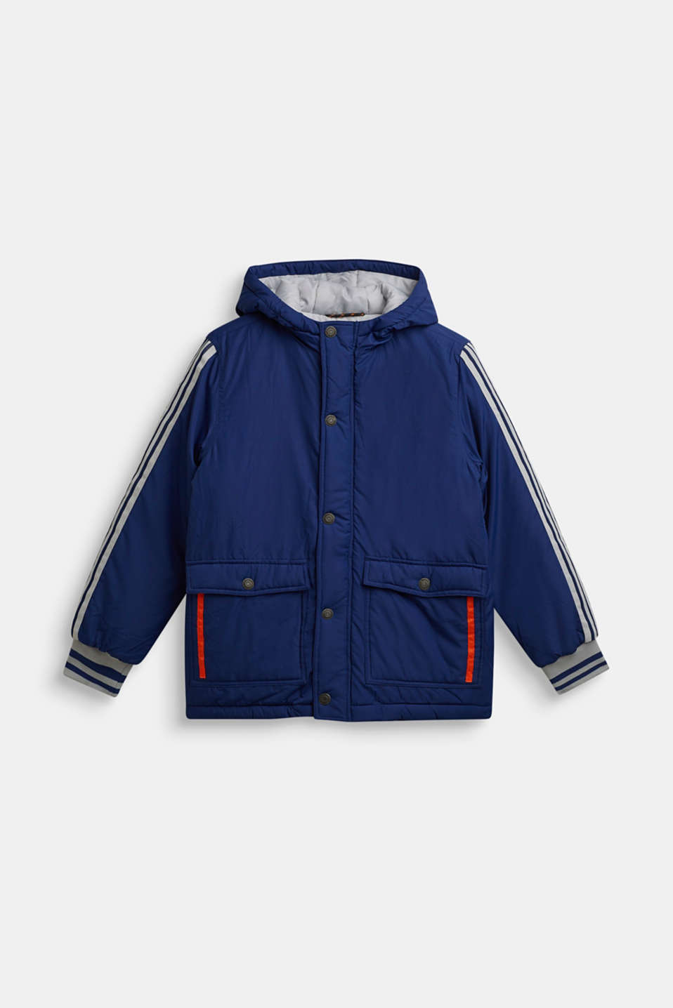 Padded hooded jacket, LCMARINE BLUE, detail image number 0
