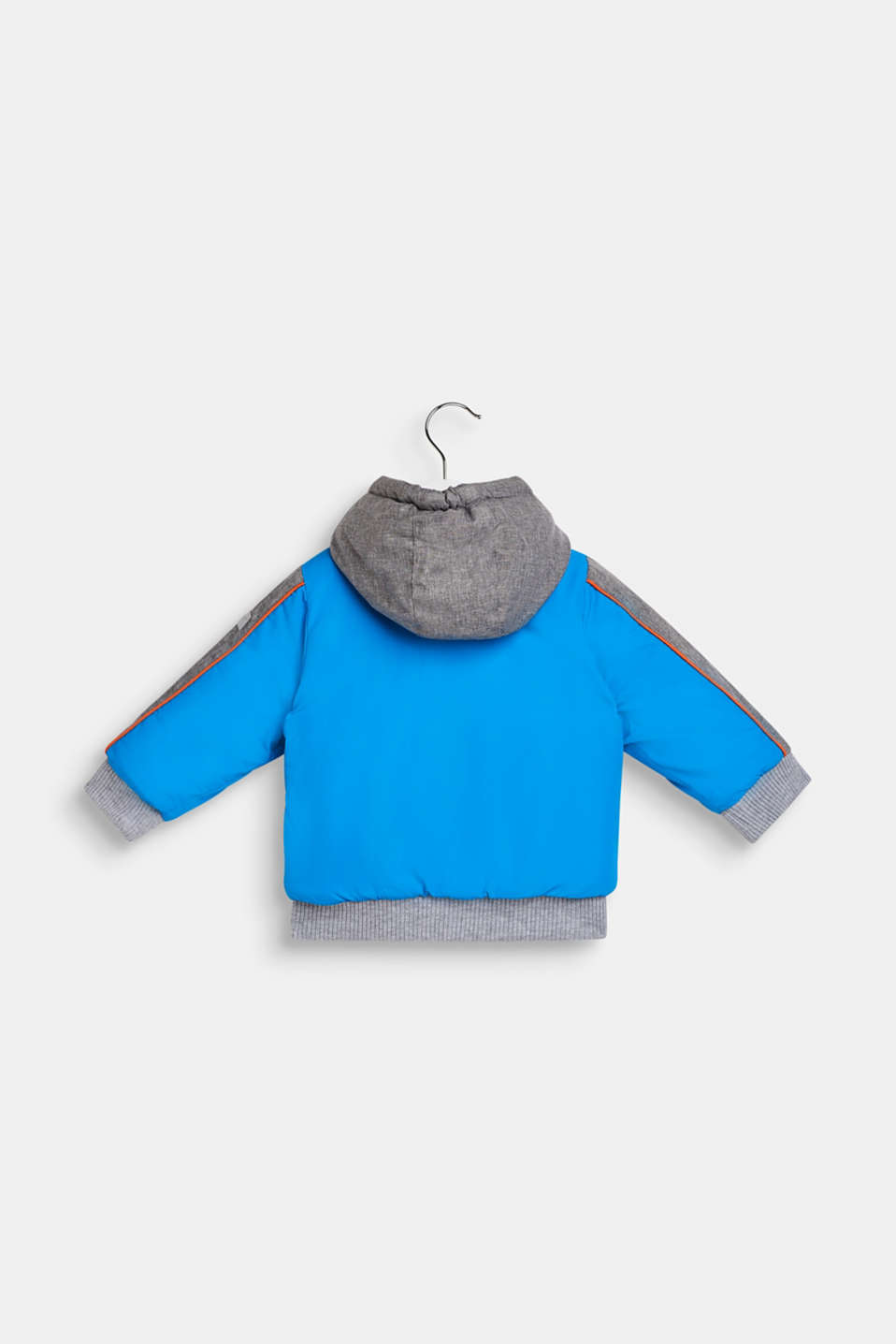Padded jacket with jersey lining, LCSPARROW BLUE, detail image number 1