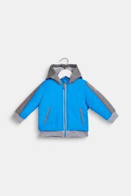 Padded jacket with jersey lining, LCSPARROW BLUE, detail