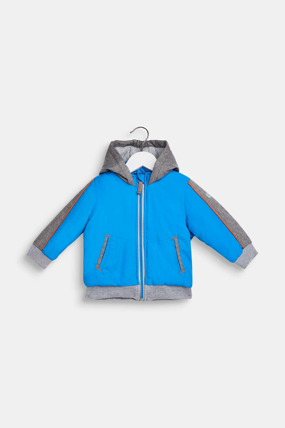 Padded jacket with jersey lining, LCSPARROW BLUE, detail image number 0