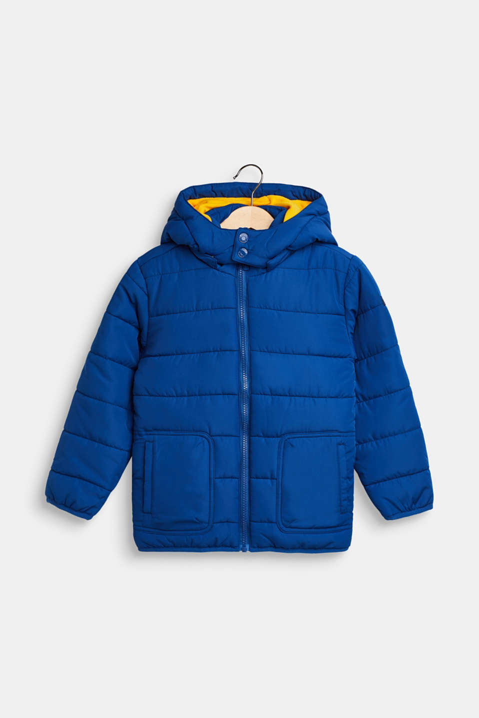 Esprit - Jacket with fleece lining and adjustable hood