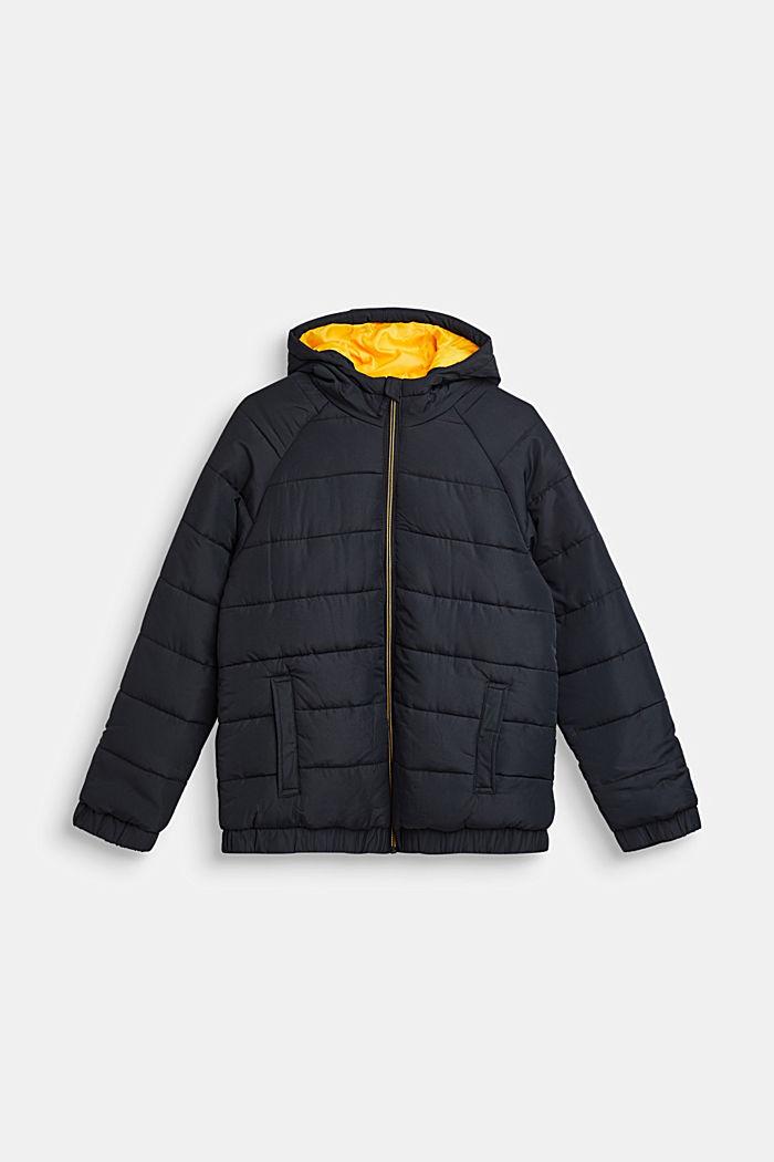 Warme Steppjacke mit Fleece-Futter, LCBLACK, detail image number 0