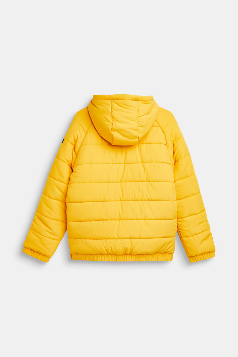 Warm quilted jacket with fleece lining, LCMUSTARD, detail image number 1
