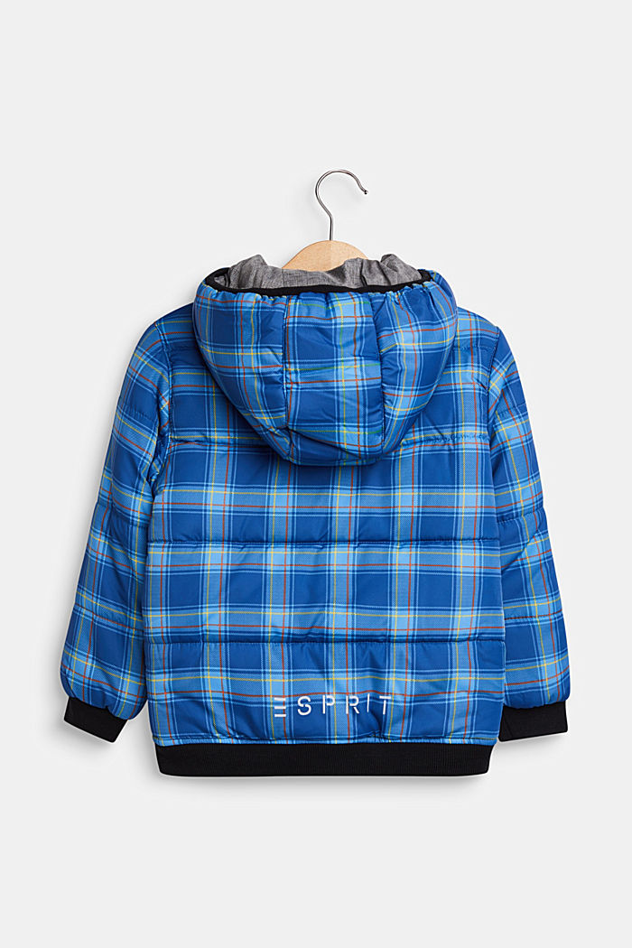 Tweezijdige gewatteerde jas, INDIGO, detail image number 1