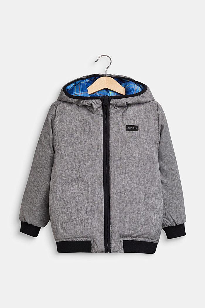 Tweezijdige gewatteerde jas, INDIGO, detail image number 2