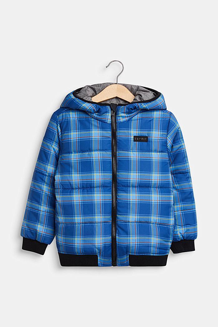 Tweezijdige gewatteerde jas, INDIGO, detail image number 0