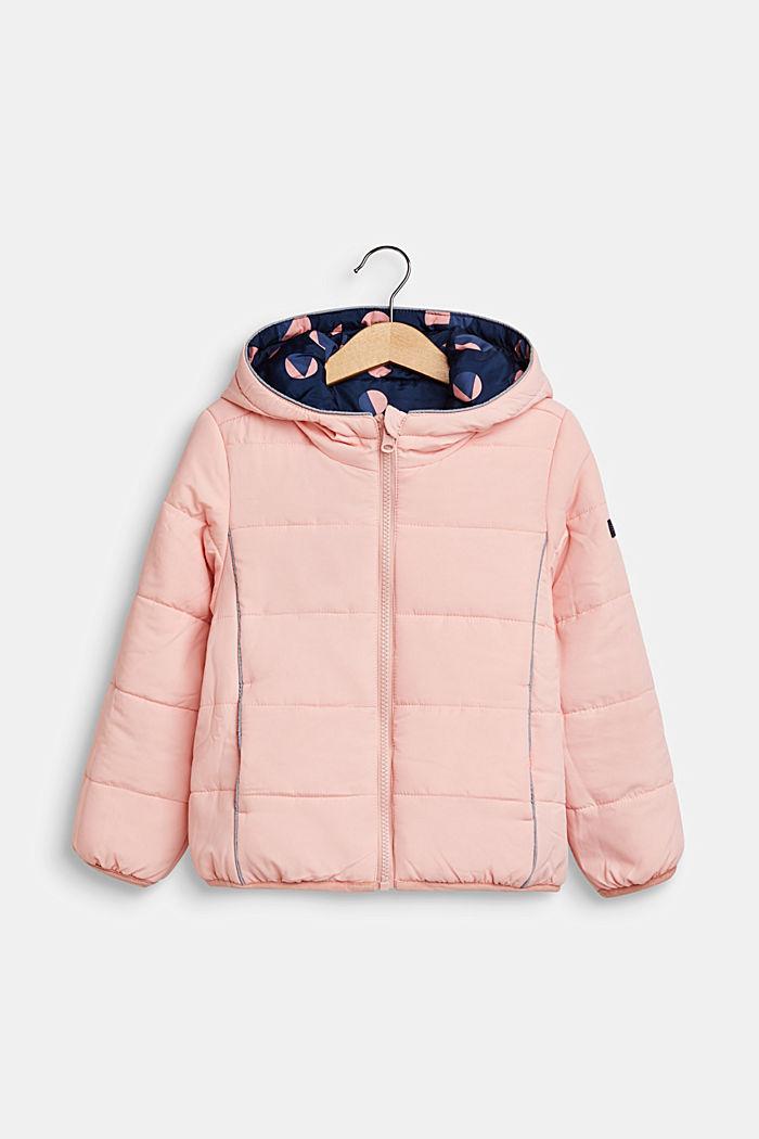 Tweezijdige gewatteerde jas, INDIGO, detail image number 3