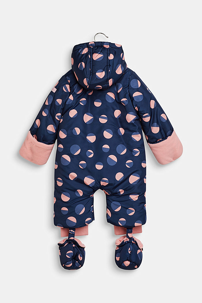 Snowsuit with an all-over print, LCINDIGO, detail image number 2