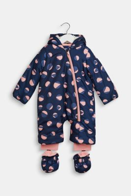 Snowsuit with an all-over print, LCINDIGO, detail