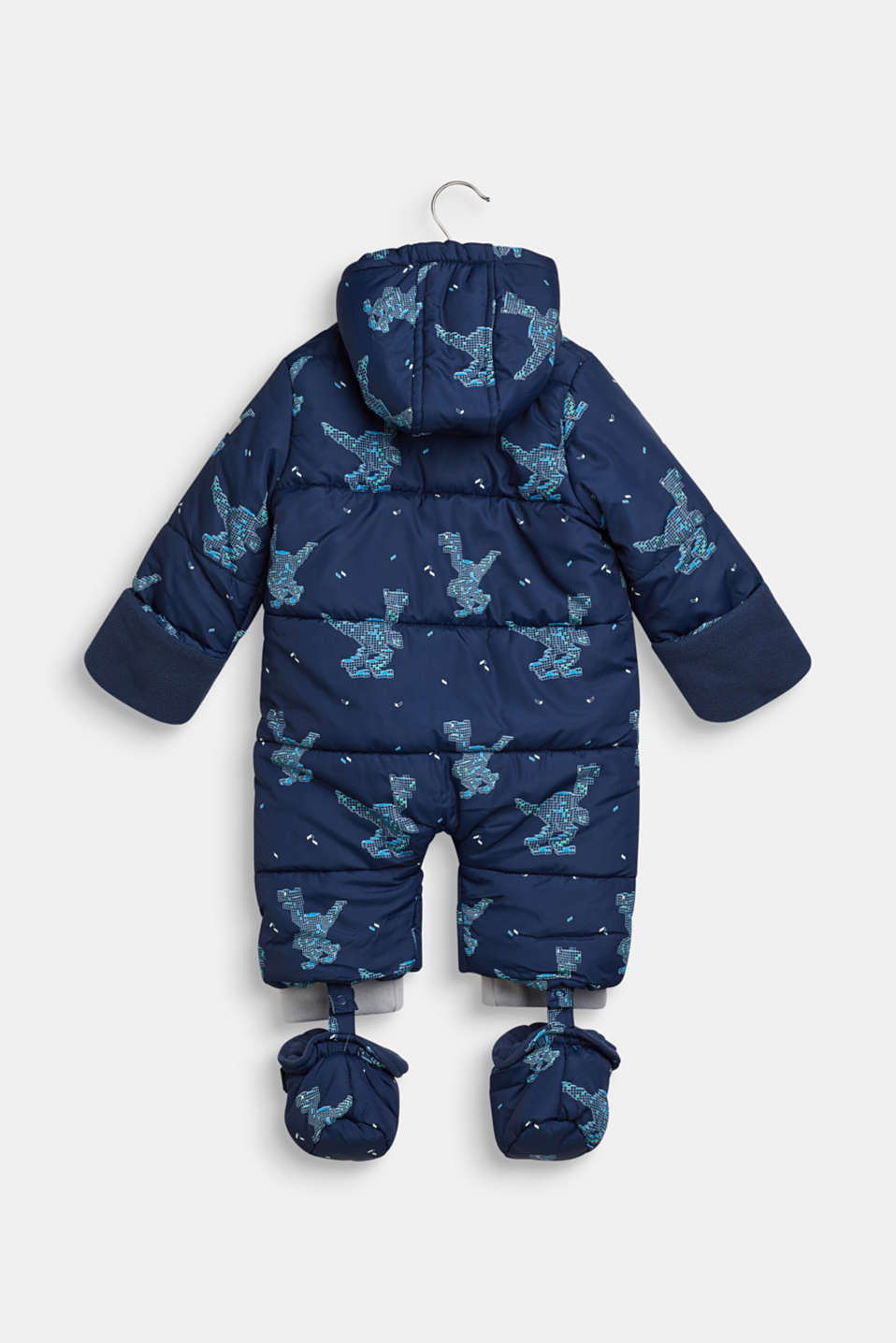 Snowsuit with an all-over print, LCNAVY, detail image number 2