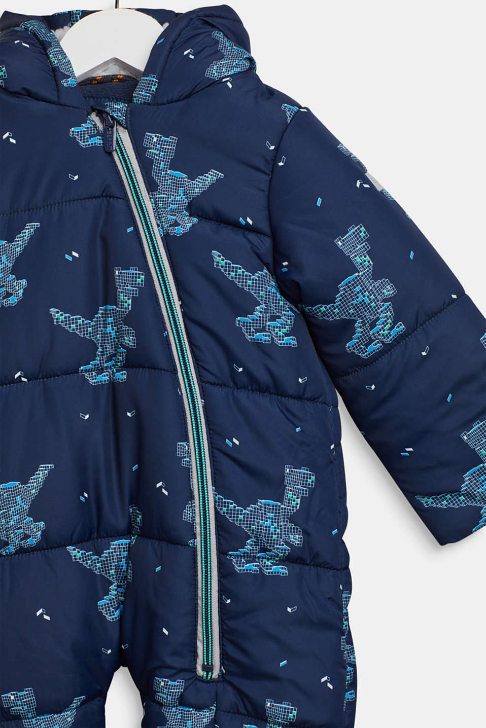 Snowsuit with an all-over print, LCNAVY, detail image number 1