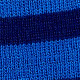 Striped beanie, LCBRIGHT BLUE, swatch