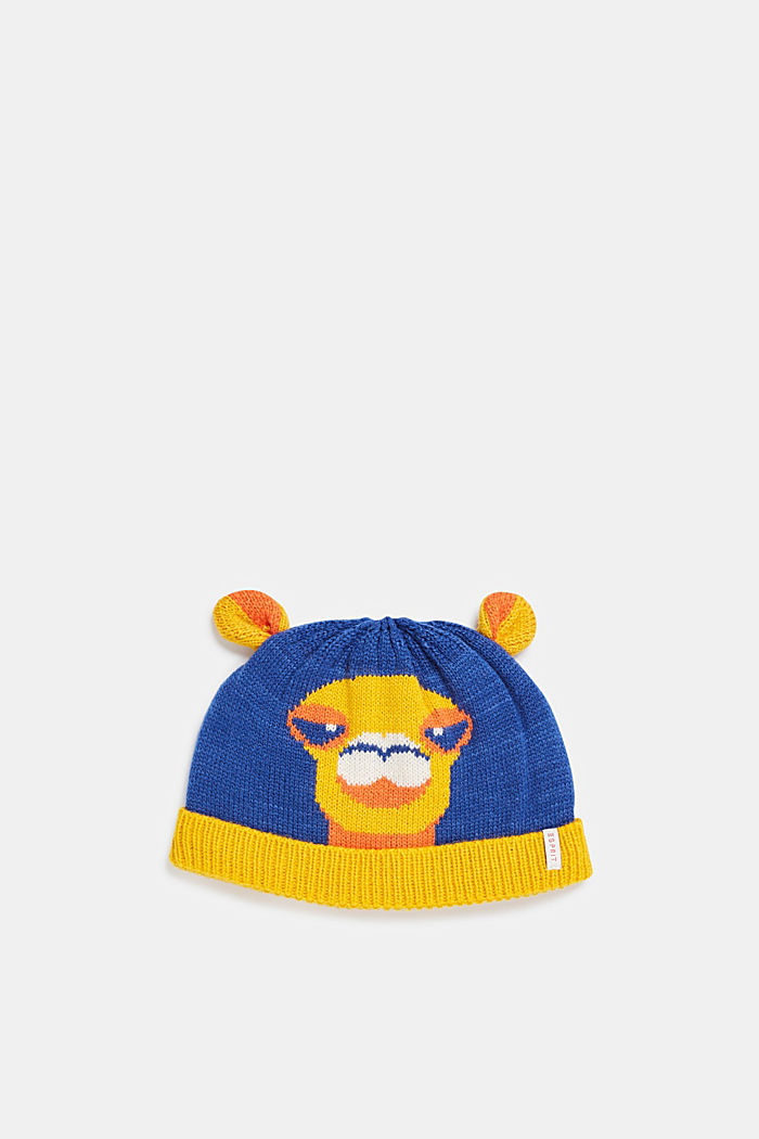 Beanie with knit to keep your ears warm