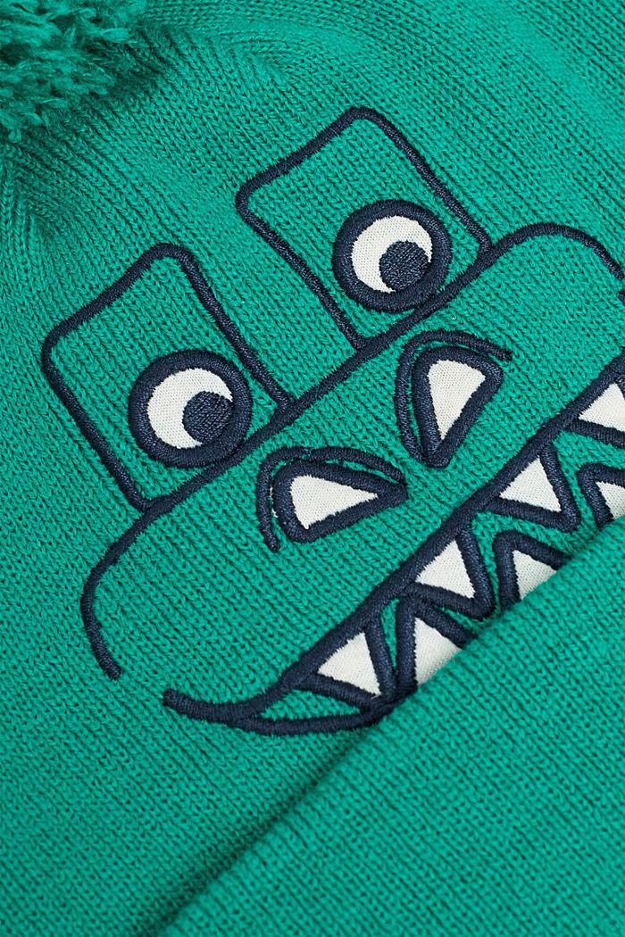 Tupsupipo, jossa dinosauruksen kasvot, MID GREEN, detail image number 1