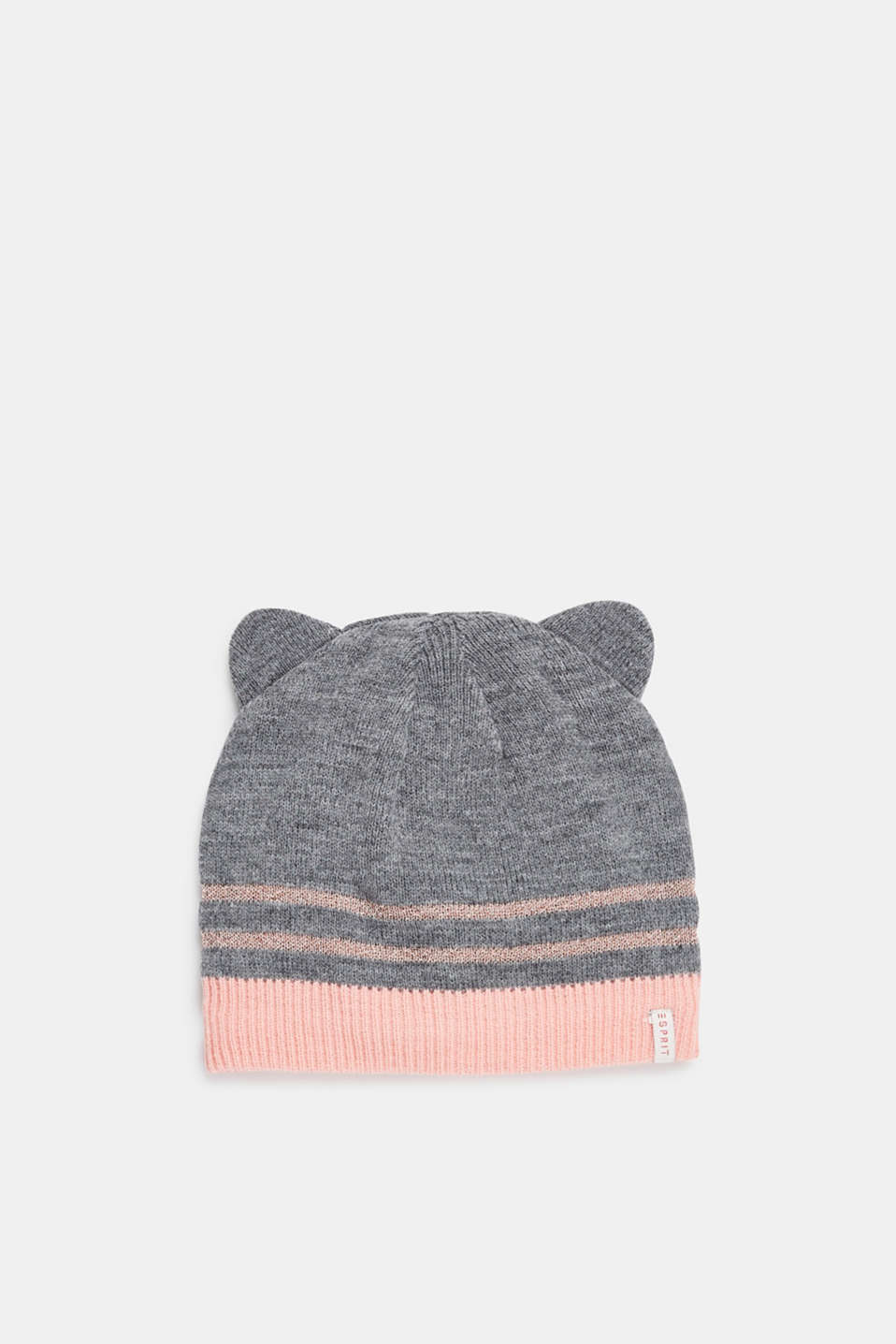 Esprit - Beanie with knit to keep your ears warm