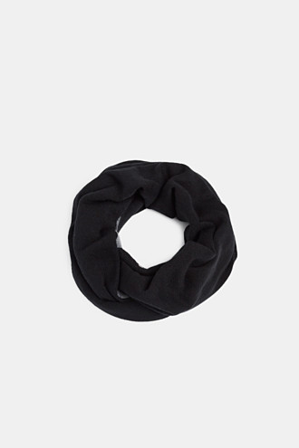 Snood in double-faced knit