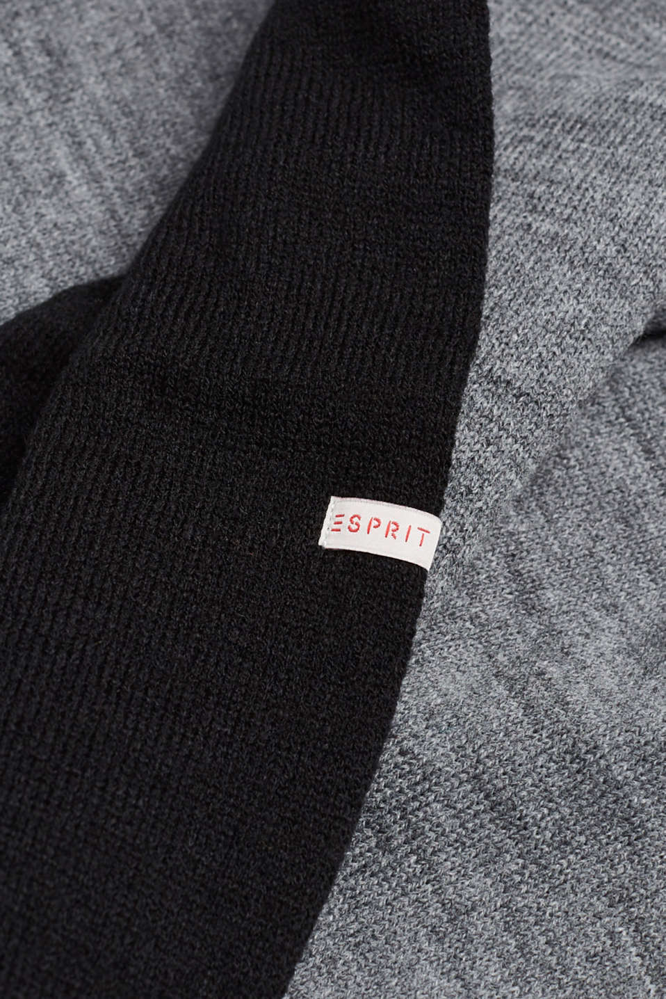 Snood in double-faced knit, LCBLACK, detail image number 1