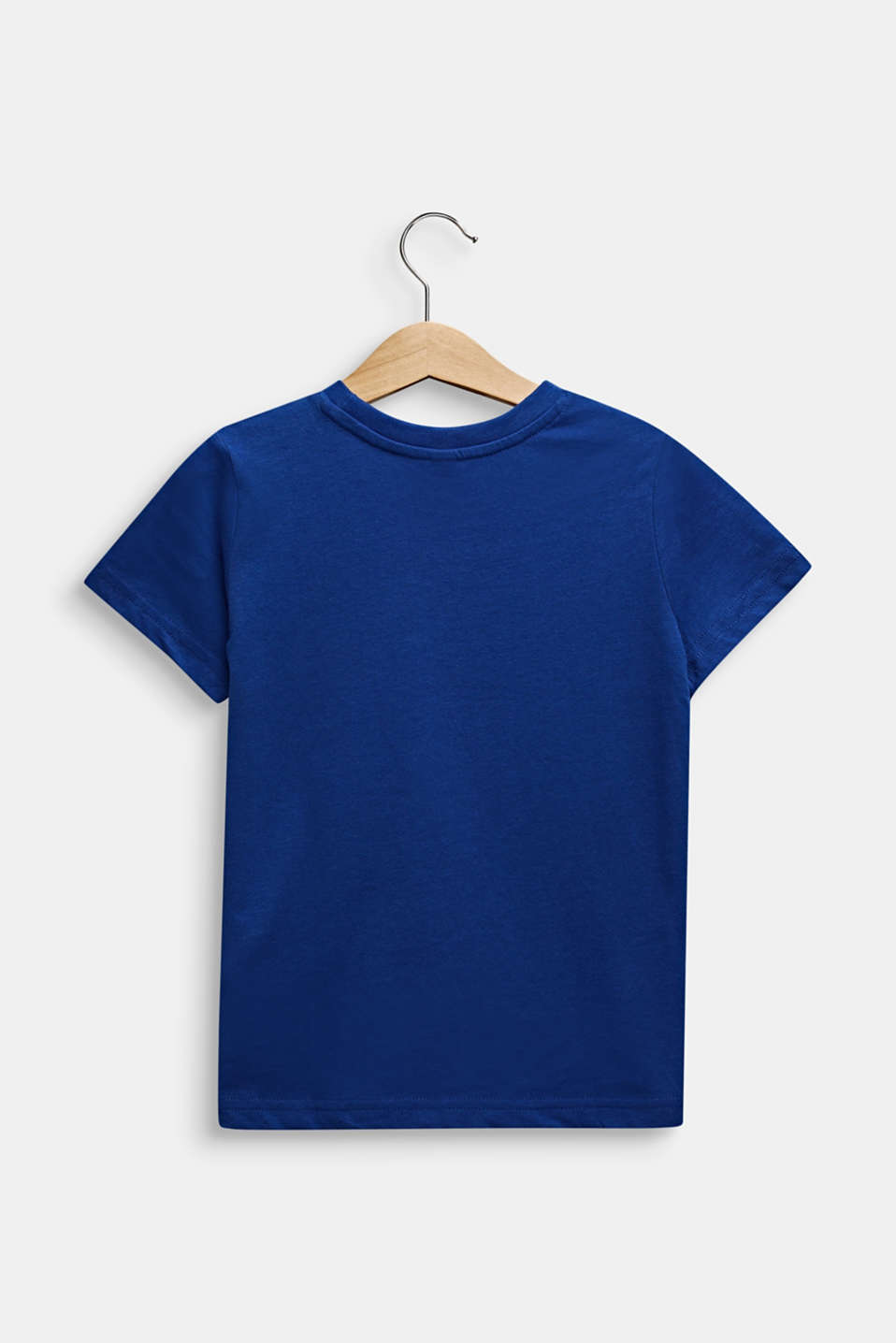 Printed T-shirt, 100% cotton, INFINITY BLUE, detail image number 1