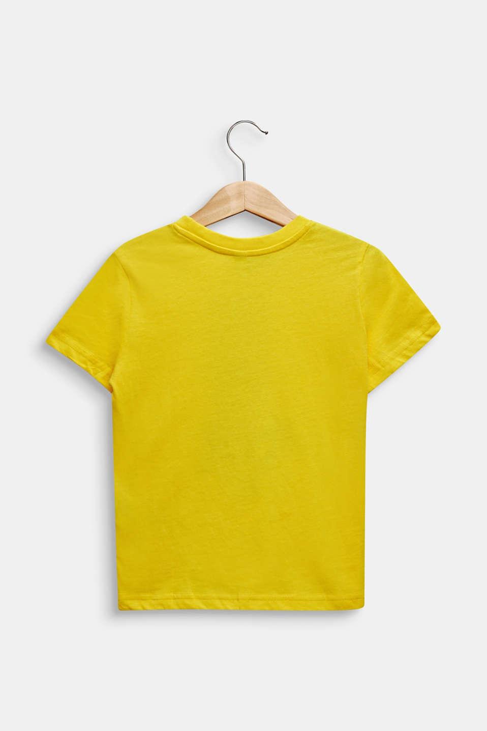 Printed T-shirt, 100% cotton, LEMON, detail image number 1