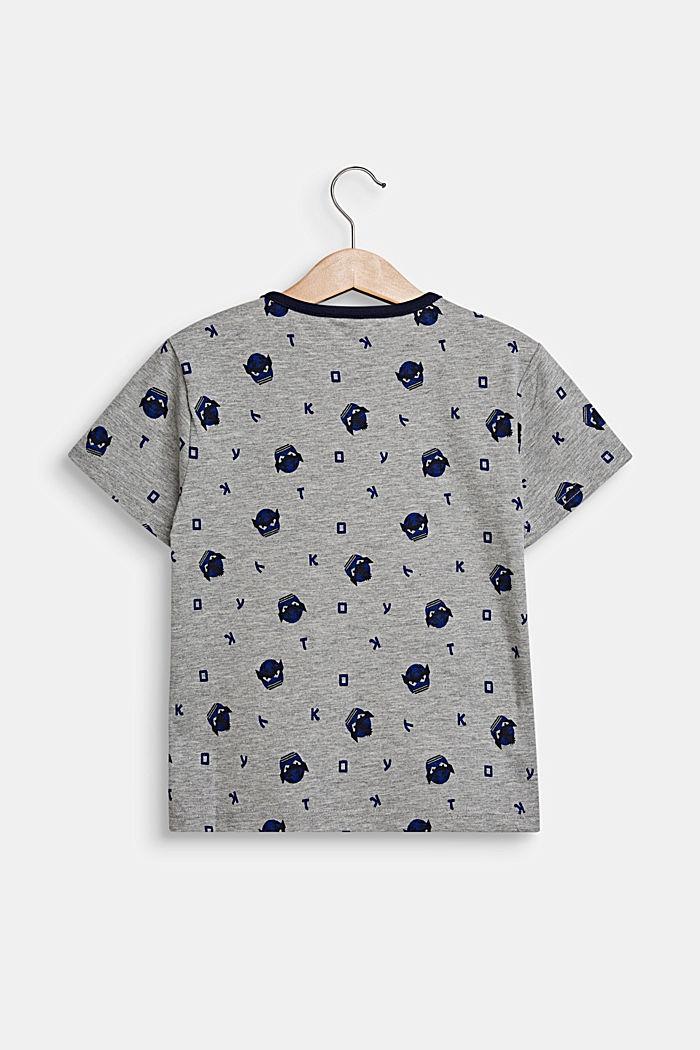T-paita kokopainatuksella, MID HEATHER GREY, detail image number 1