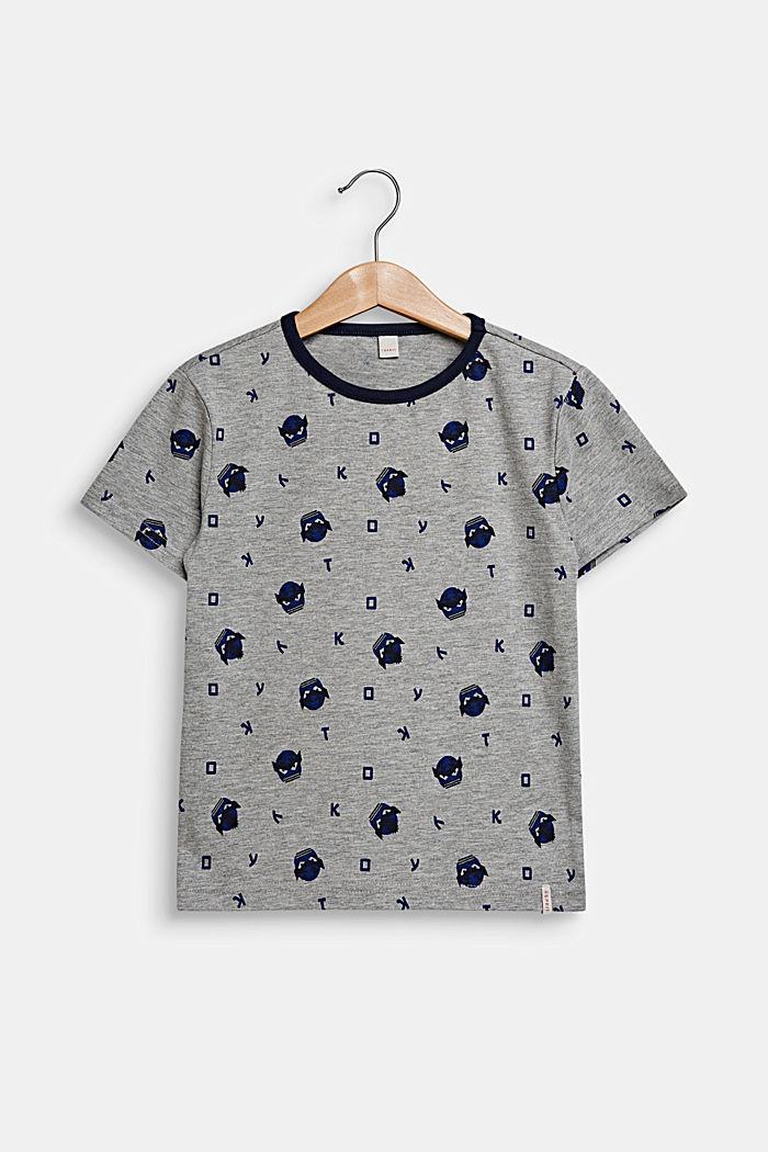 T-paita kokopainatuksella, MID HEATHER GREY, detail image number 0