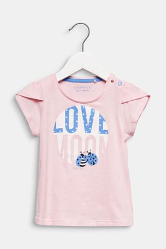 Front print T-shirt, 100% cotton