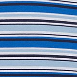 T-shirt with multi-coloured stripes, 100% cotton, LCLIGHT BLUE, swatch