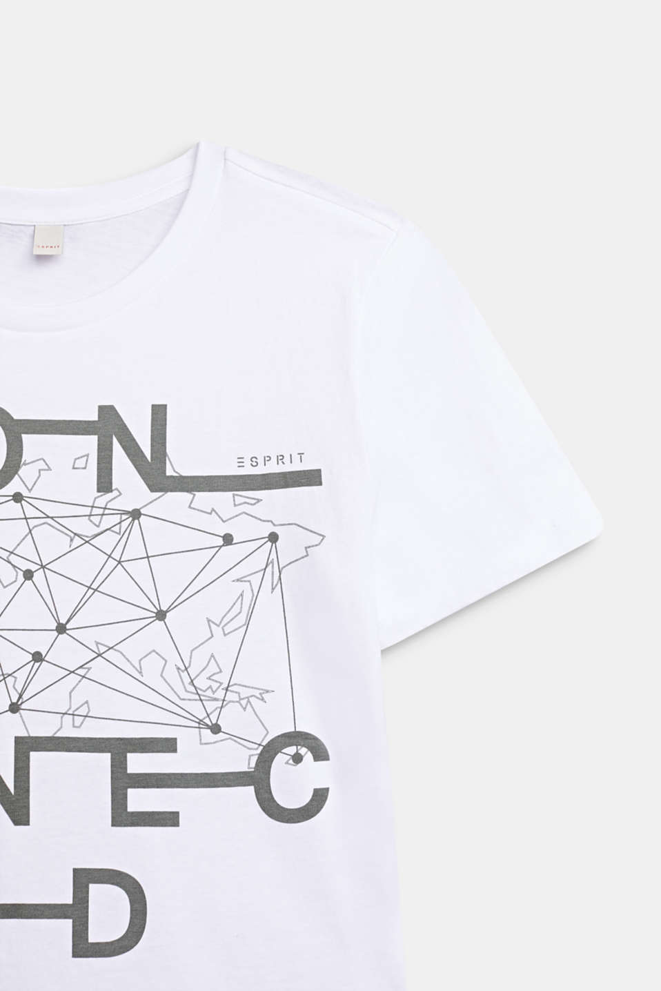 Print T-shirt in 100% cotton, LCWHITE, detail image number 1