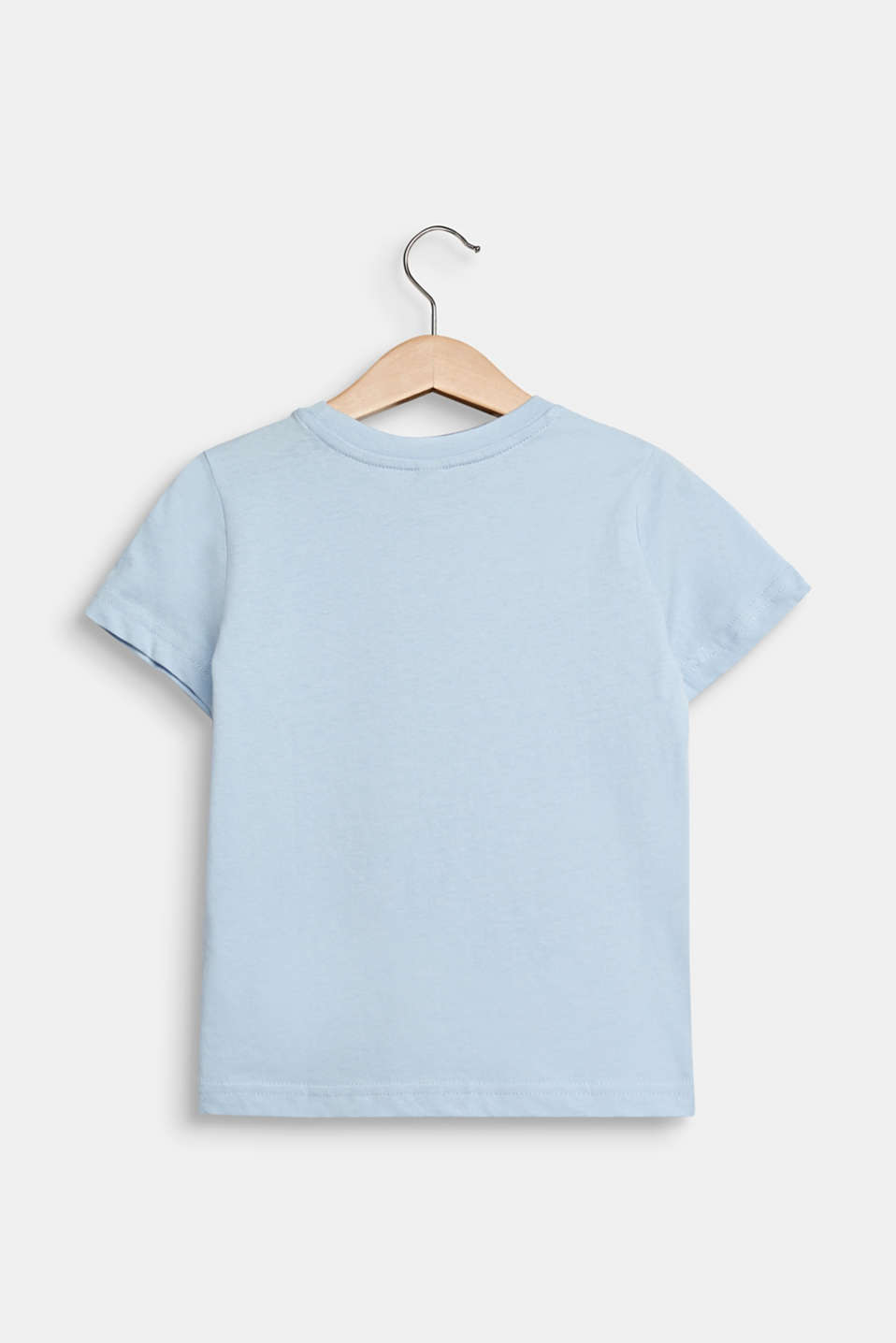 T-shirt with a front print, SKY BLUE, detail image number 1