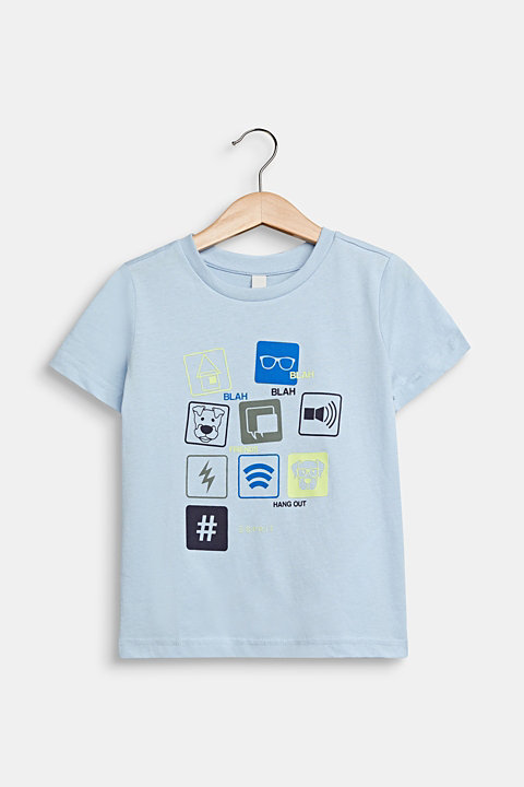 T-shirt with a front print